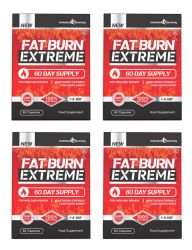 Fat Burn Extreme High Strength Weight Loss Supplement - 240 Capsules