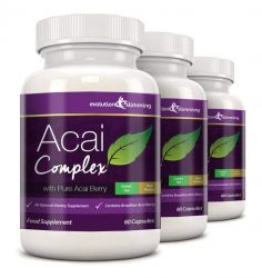 Acai Berry Complex 455mg - 180 Capsules (3 Month Supply)