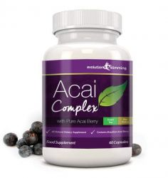 Acai Berry Complex 455mg - 60 Capsules (1 Month Supply)