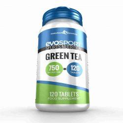 EvoSport Green Tea 750mg - 120 Tablets