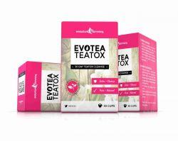 EvoTea Teatox Detox Herbal Weight Loss Slimming Tea - 3 Boxes (90 Tea Bags)