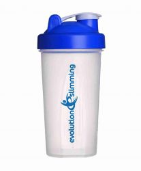 Evolution Slimming Large 700ml Protein Shaker - Blue/Clear