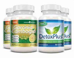 Garcinia Pure 100% Garcinia Cambogia & Colon Cleanse Combo - 2 Month Supply