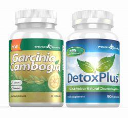 Garcinia Pure 100% Garcinia Cambogia & Colon Cleanse Combo - 1 Month Supply
