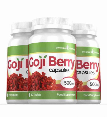 Goji Berry Extract 5,000mg High Strength Capsules - 180 Capsules