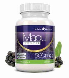 Maqui Berry Antioxidant Supplement 500mg Capsules - 90 Capsules